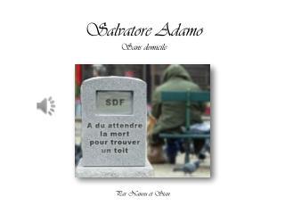 Salvatore Adamo Sans domicile