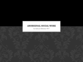 Role of the Social Worker