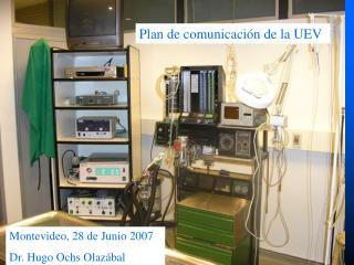 Plan de comunicación de la UEV