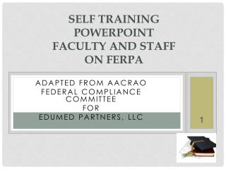 Self Training  powerpoint Faculty and Staff  on FERPA