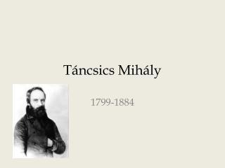 Táncsics Mihály