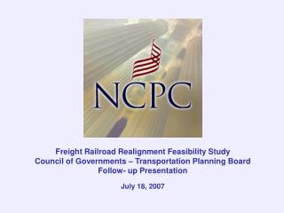 Freight Railroad Realignment Feasibility Study