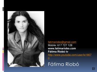 Fátima Riobó