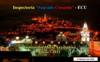 """Inspectoría """"Sagrado  Corazón""""  - ECU"""