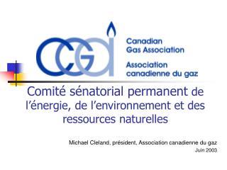 Comité sénatorial permanent  de l'énergie, de l'environnement et des ressources naturelles