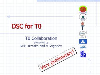 DSC for T0