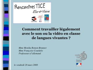 Comment travailler légalement avec le son ou la vidéo en classe de langues vivantes ?