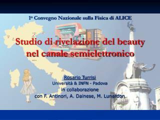 Studio di rivelazione del beauty nel canale semielettronico