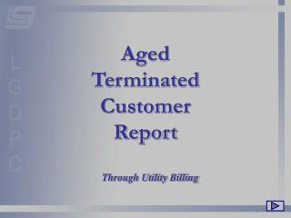 Aged Terminated Customer Report
