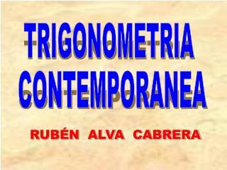 RUBÉN  ALVA  CABRERA