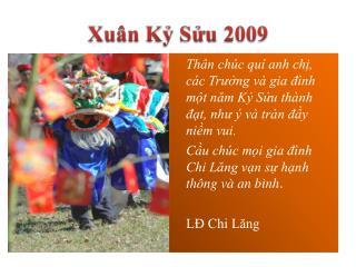 LDCL - Chuc Xuan Ky Suu 2009