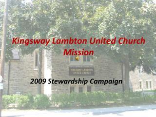 Kingsway Lambton United Church Mission
