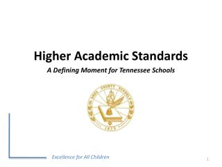 Excellence for All Children