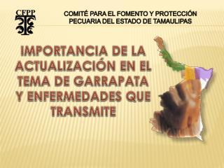 COMITÉ PARA EL FOMENTO Y PROTECCIÓN PECUARIA DEL ESTADO DE TAMAULIPAS
