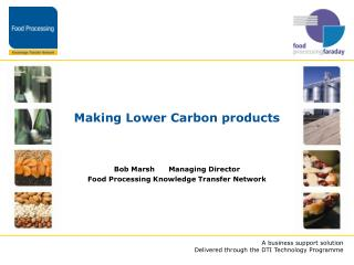 Making Lower Carbon products