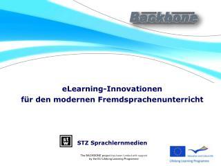 eLearning-Innovationen  f�r den modernen Fremdsprachenunterricht STZ Sprachlernmedien