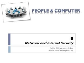 6 Network and Internet Security