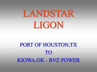 LANDSTAR LIGON