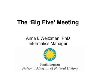The 'Big Five' Meeting