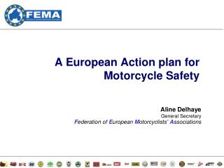 A European Action plan for Motorcycle Safety