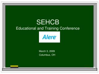 SEHCB Educational and Training Conference