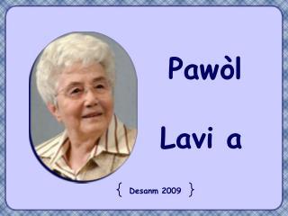 Pawòl Lavi a