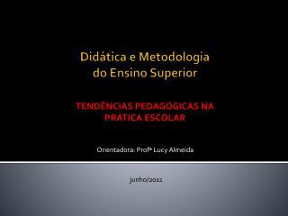 Did�tica e Metodologia  do Ensino Superior