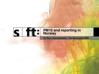 PM10 and reporting in Norway