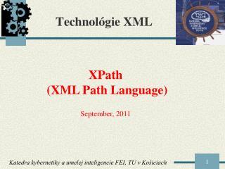 Technol ógie XML