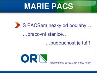 MARIE PACS