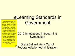 eLearning Standards in Government
