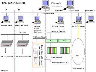 TPC-RO DCS set-up