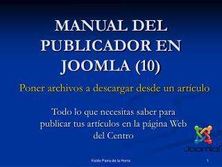 MANUAL DEL PUBLICADOR EN JOOMLA (10)
