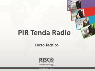 PIR Tenda Radio