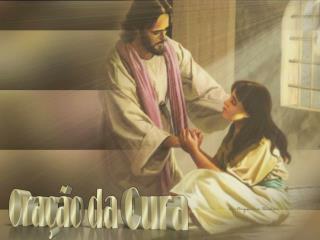 Tira todo o medo,  angústia e aflição, Toca nesta alma  e cura o coração.