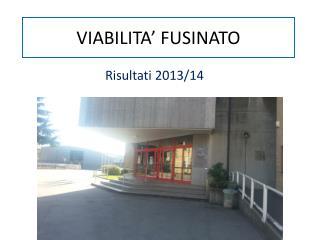 VIABILITA' FUSINATO