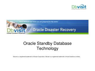 Oracle Standby Database Technology