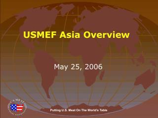 USMEF Asia Overview