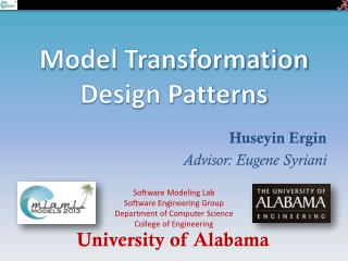 Model Transformation Design Patterns