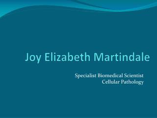Joy Elizabeth Martindale