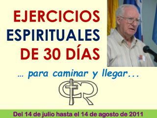 EJERCICIOS ESPIRITUALES DE 30 DÍAS