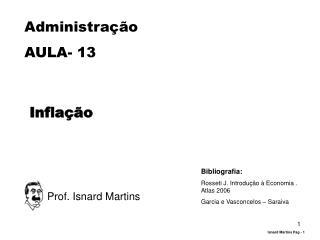 Administração AULA-  13