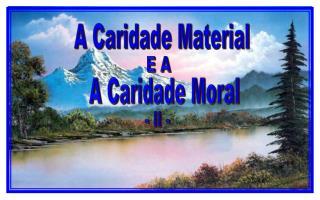 A Caridade Material