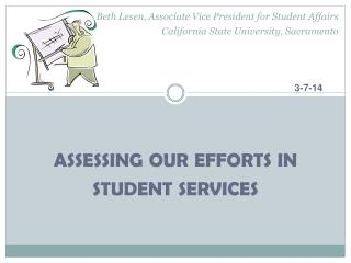 assessing our efforts in student services