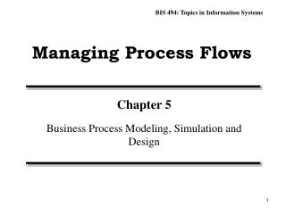 Managing Process Flows
