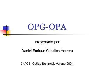 OPG-OPA