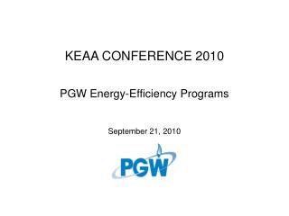 KEAA CONFERENCE 2010