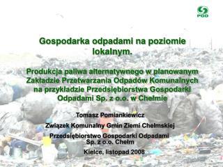 Kielce ,  listopad  200 8