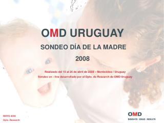Realizado del 15 al 26 de abril de 2008 – Montevideo / Uruguay