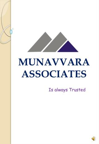 MUNAVVARA  ASSOCIATES